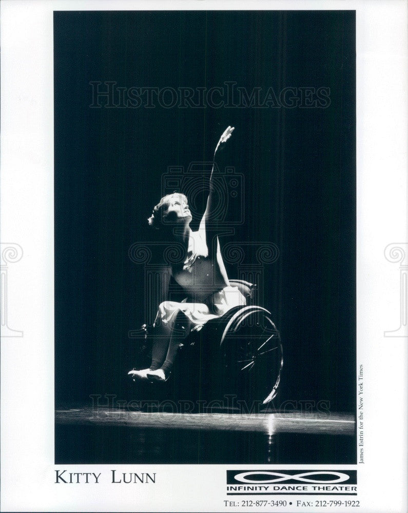 Undated Entertainers Infinity Dance Theater, Kitty Lunn Press Photo - Historic Images