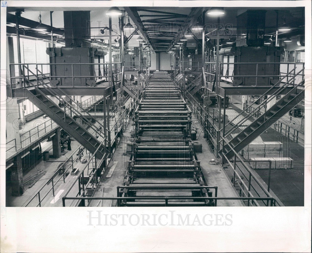 Undated Chicago, IL Sun-Times Plant Goss Headliner Press Room Press Photo - Historic Images