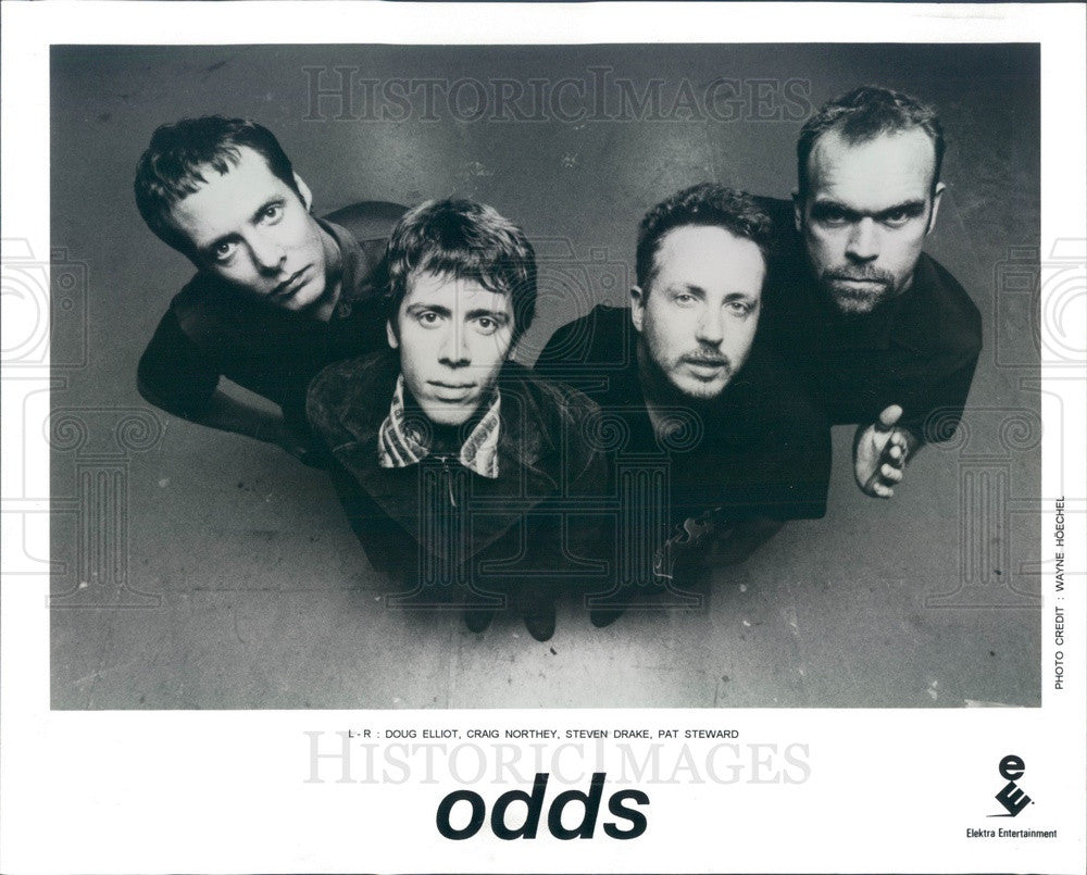 1997 Canadian Alternative Rock Band Odds Press Photo - Historic Images