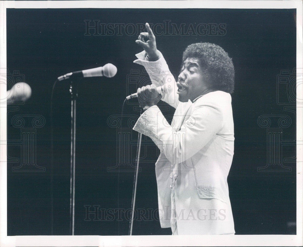 1979 R&B/Soul Musical Group The O'Jays, Eddie Levert Press Photo - Historic Images