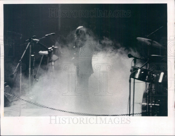 1973 English Rock Band Yes Press Photo - Historic Images