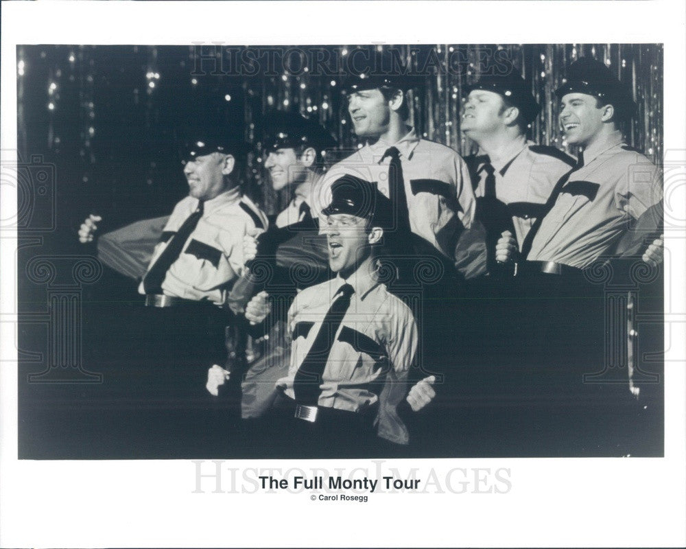 Undated The Full Monty Tour, Musical Stage Production Press Photo - Historic Images