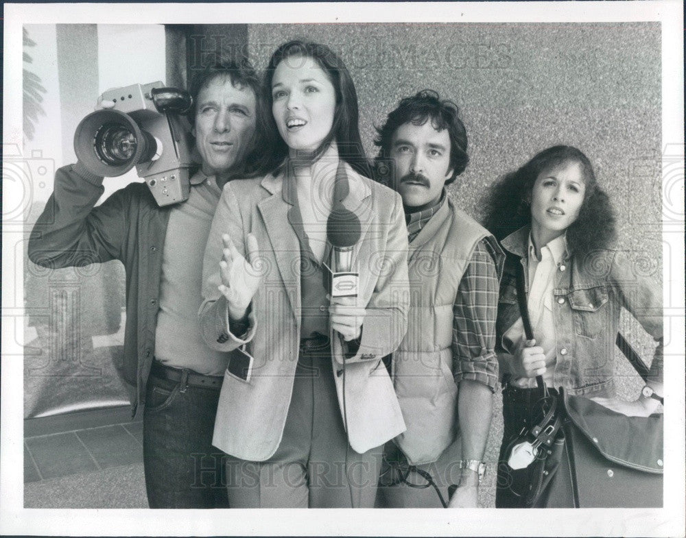 1983 Actor Janey Eilber/Greg Mullavey/Garret Pearson/Jennifer Perito Press Photo - Historic Images