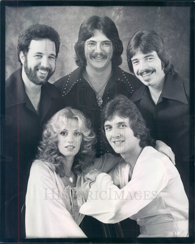 1977 Music Group After Midnight Press Photo - Historic Images