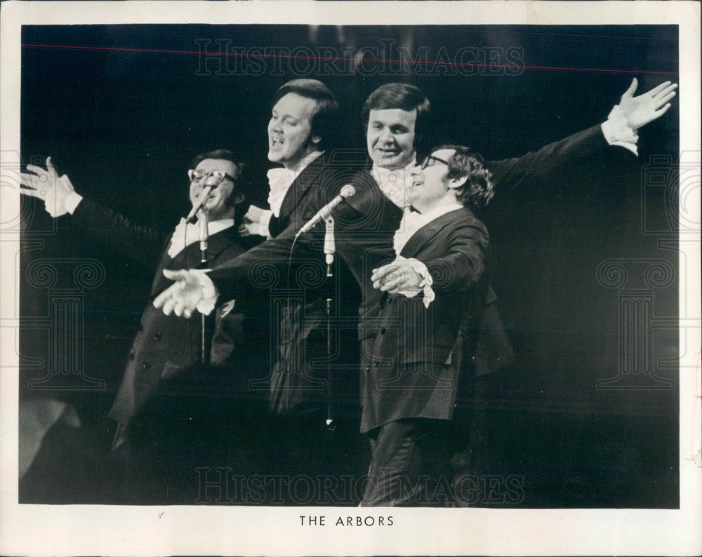 Undated American Pop Music Group The Arbors Press Photo - Historic Images