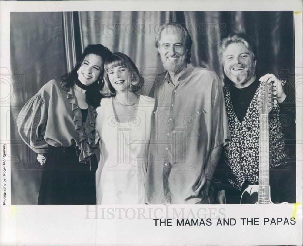 1997 American/Canadian Vocal Music Group The Mamas and the Papas Press Photo - Historic Images