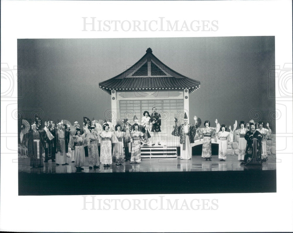 Undated Scene From Operetta The Mikado Press Photo - Historic Images