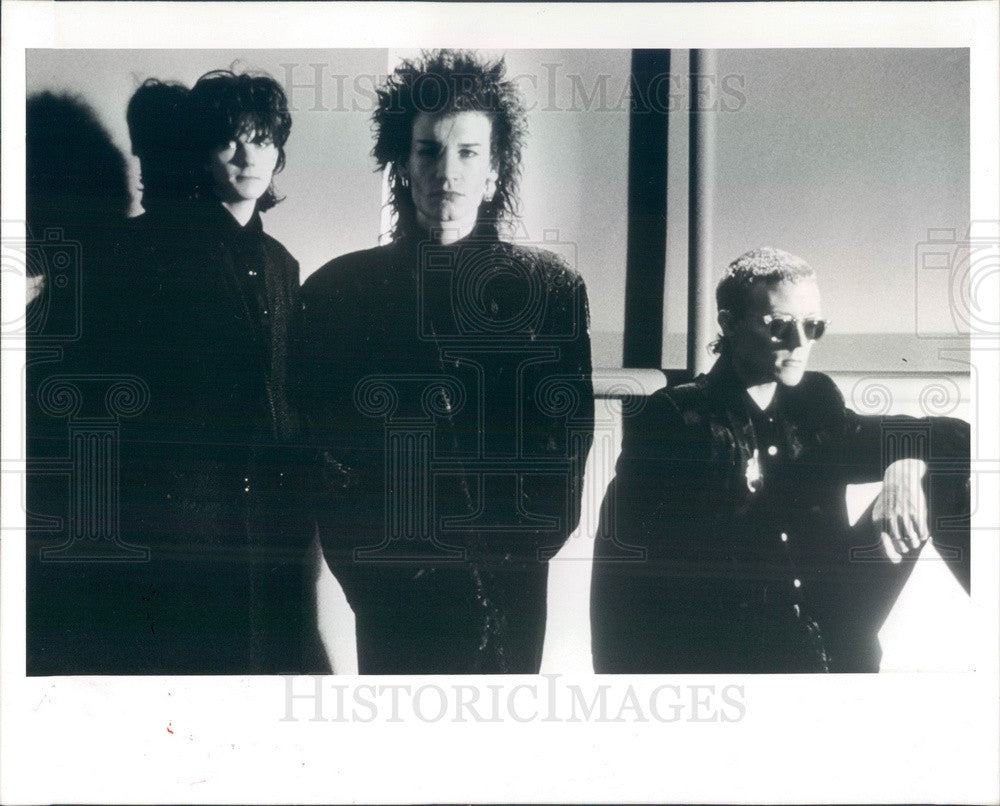 1987 English Rock Band Love and Rockets Press Photo - Historic Images