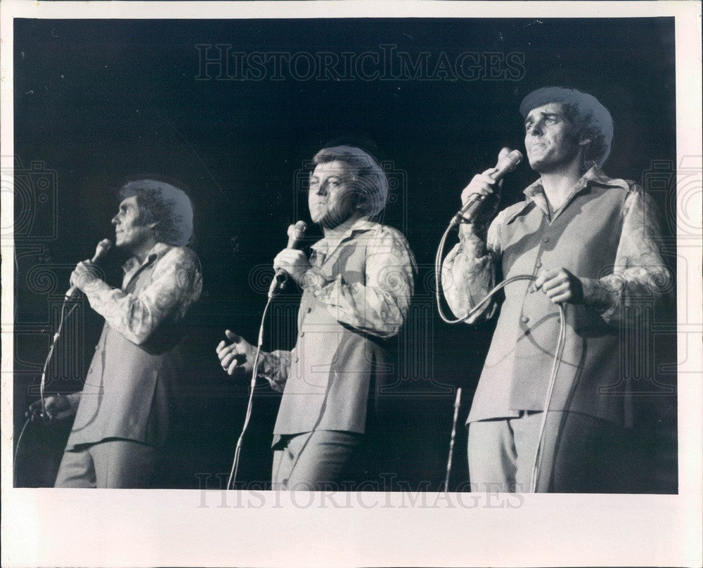 1971 American Male Pop Music Trio Lettermen Press Photo - Historic Images