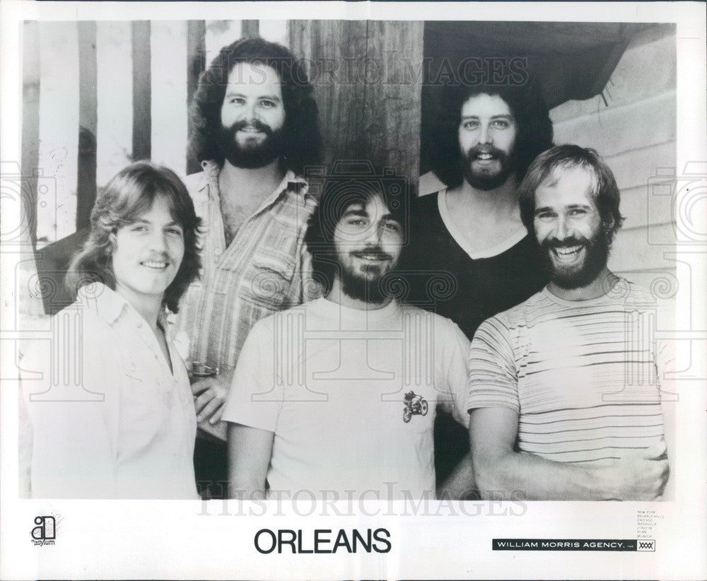 1976 Pop-Rock Band Orleans Press Photo - Historic Images