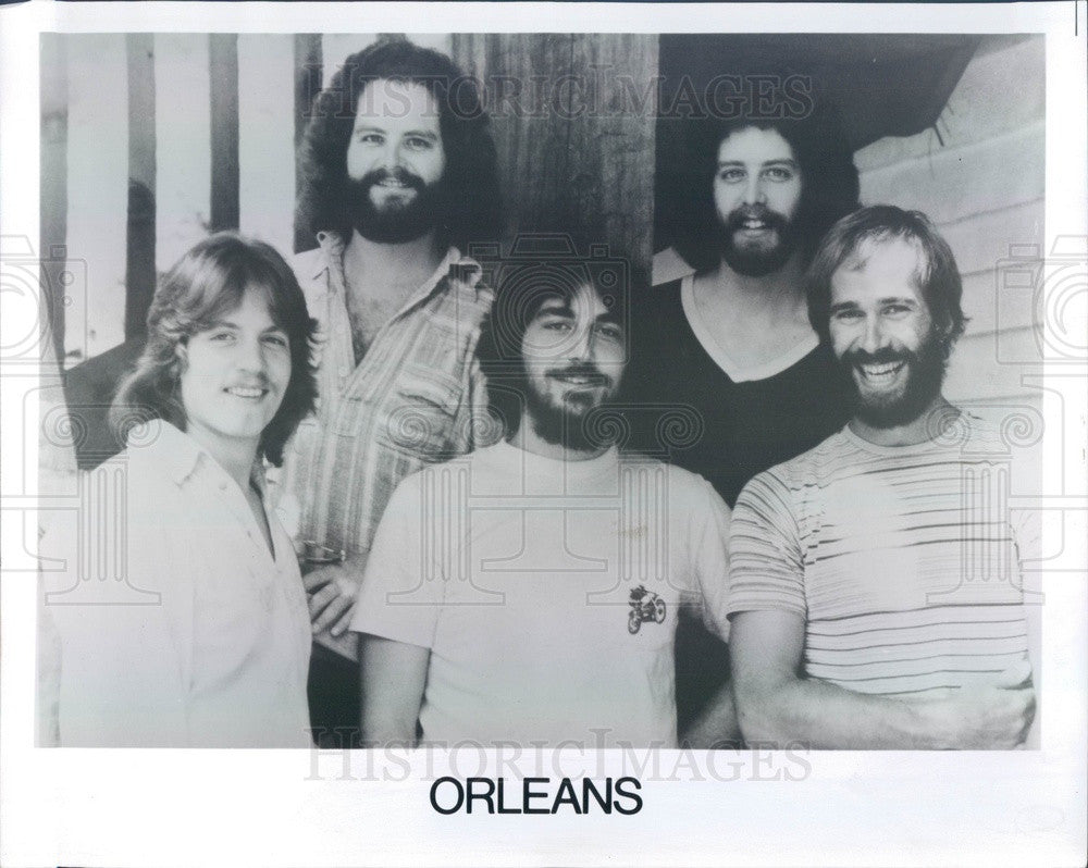 1977 Pop-Rock Band Orleans Press Photo - Historic Images