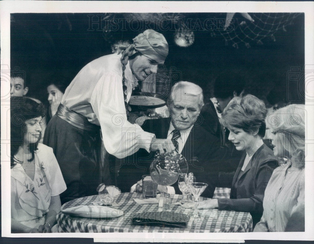 1981 Ted Knight/JM J Bullock/N Dussault/Lydia Cornell/D Valkenburgh Press Photo - Historic Images