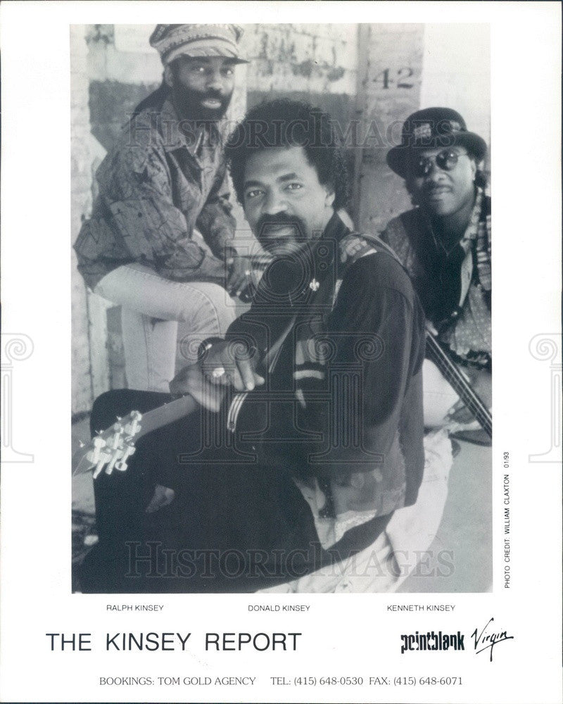 1997 Blues Band The Kinsey Report Press Photo - Historic Images