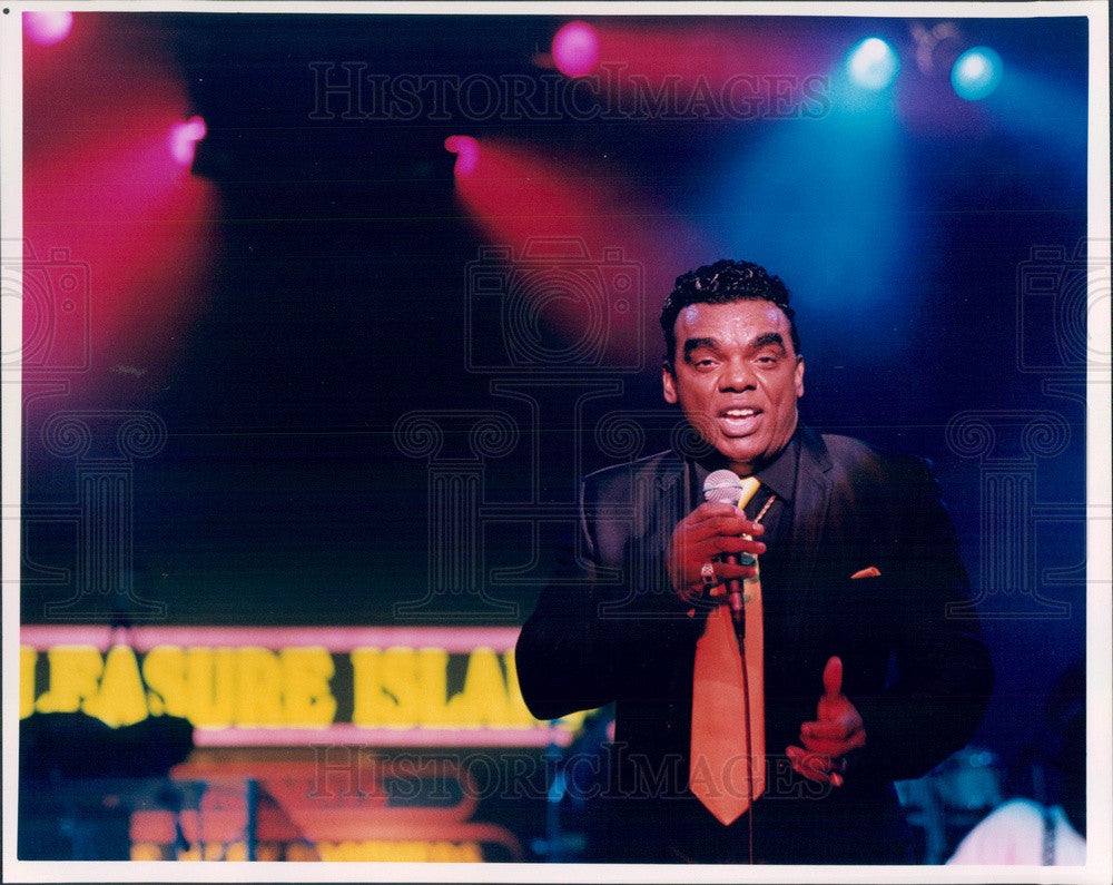 1997 American Musician/Actor Ronald Isley Press Photo - Historic Images