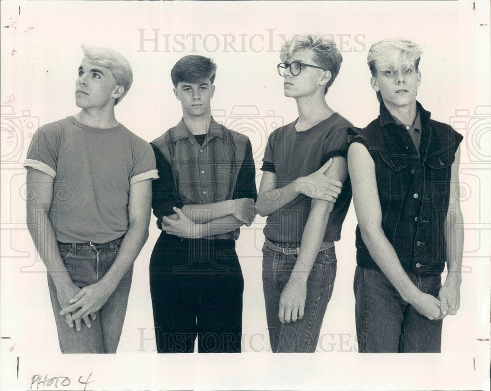 1983 Rock/New Wave Band A New Personality #2 Press Photo - Historic Images