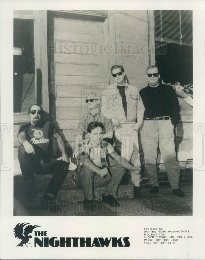 1992 Blues & Roots Music Band The Nighthawks Press Photo - Historic Images