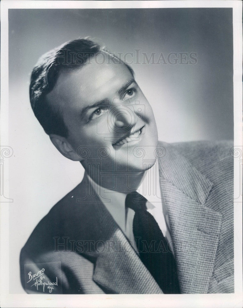 1959 Metropolitan Opera Singer Paul Franke #2 Press Photo - Historic Images