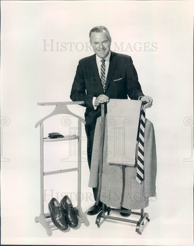 1963 NBC TV Personality Tom Frandsen Press Photo - Historic Images