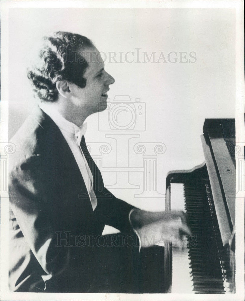 1967 Classical Pianist Malcolm Frager Press Photo - Historic Images