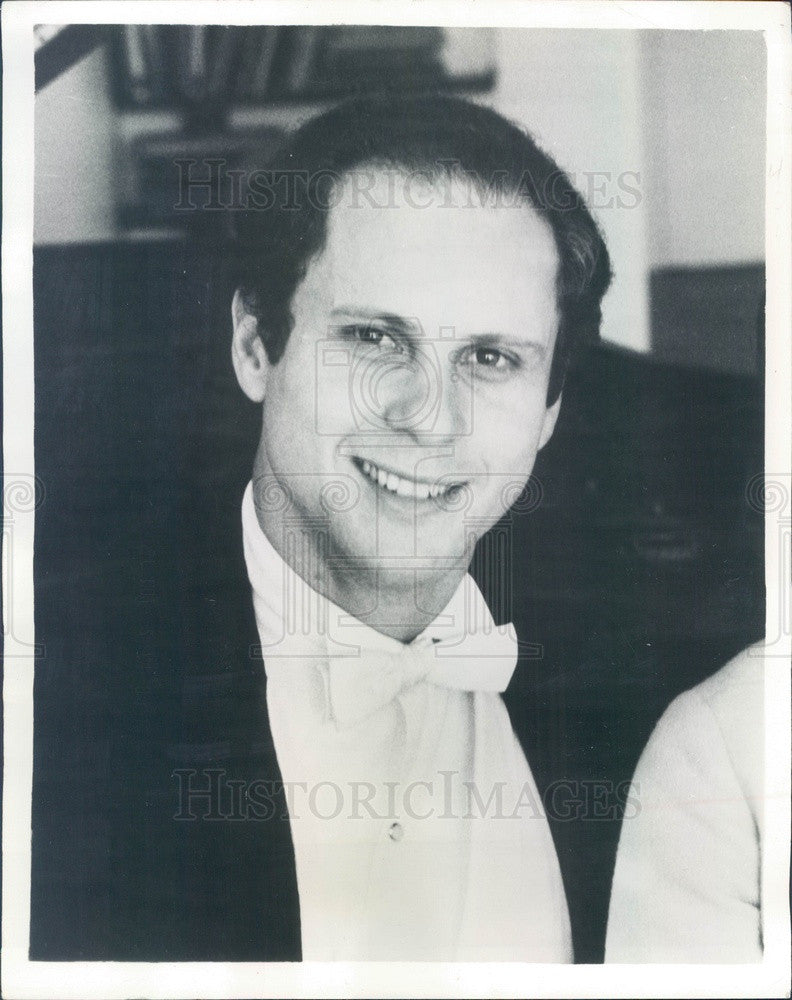 1967 Classical Pianist Malcolm Frager #2 Press Photo - Historic Images