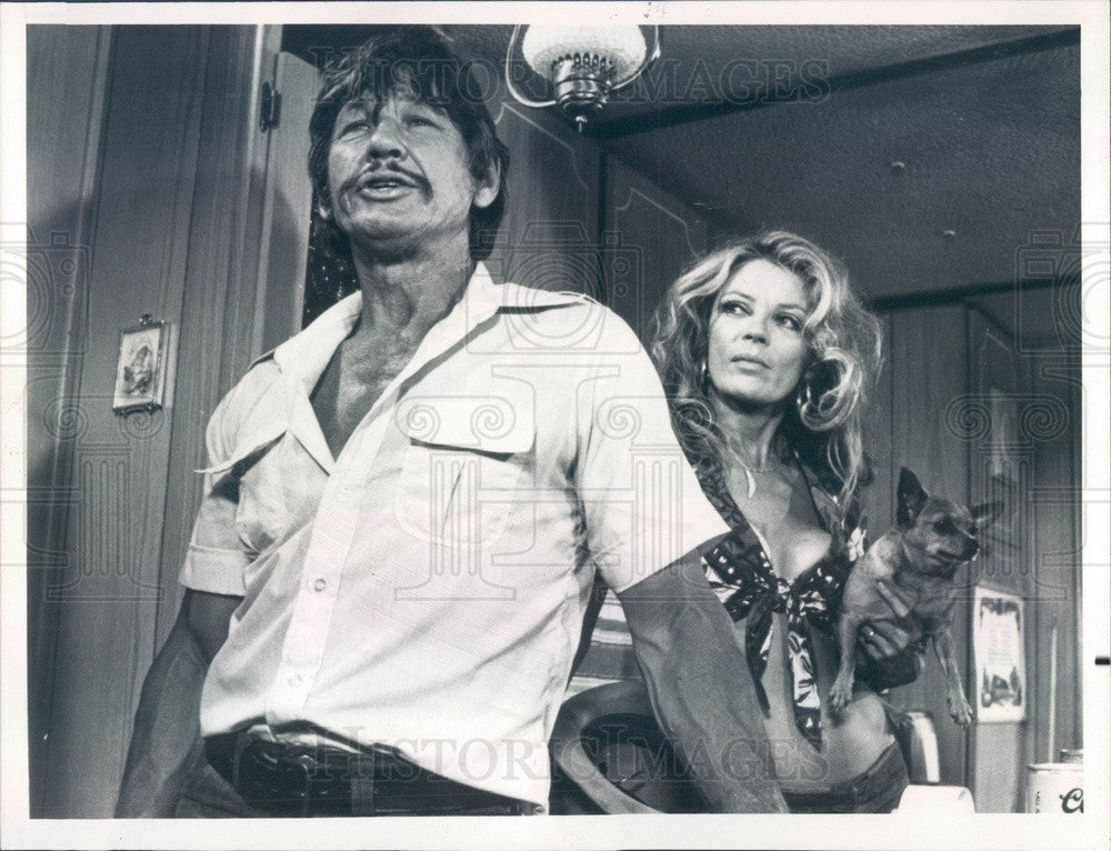 1976 Hollywood Actor Charles Bronson in Breakout Press Photo - Historic Images