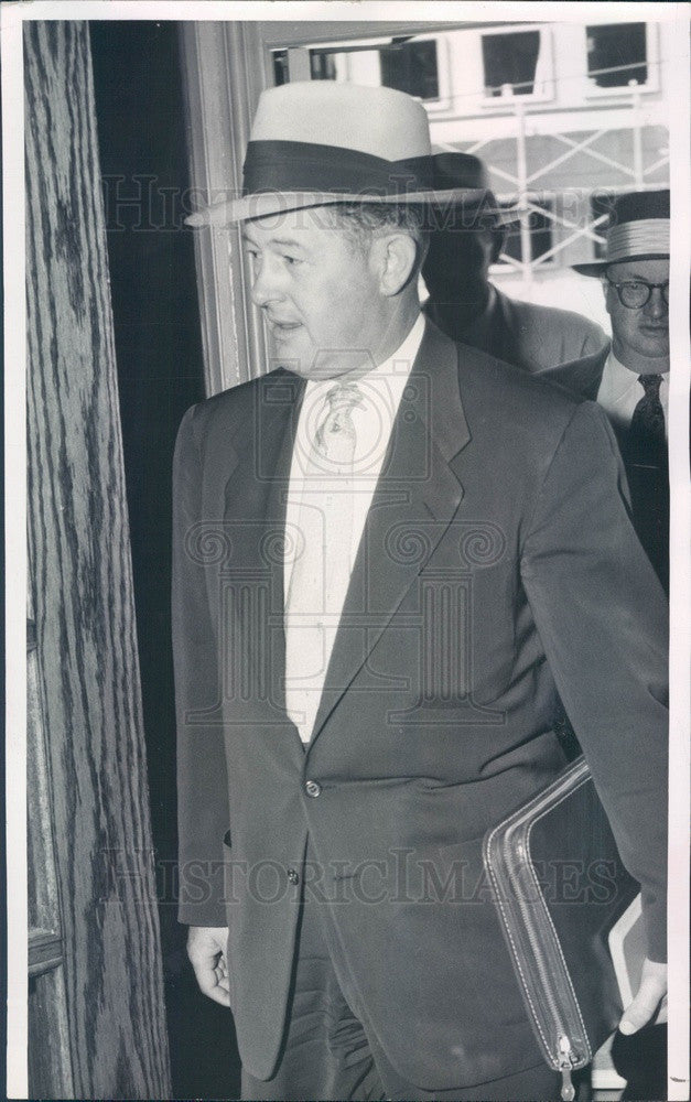 1956 Jefferson County, Colorado Sheriff Carl Enlow #2 Press Photo - Historic Images
