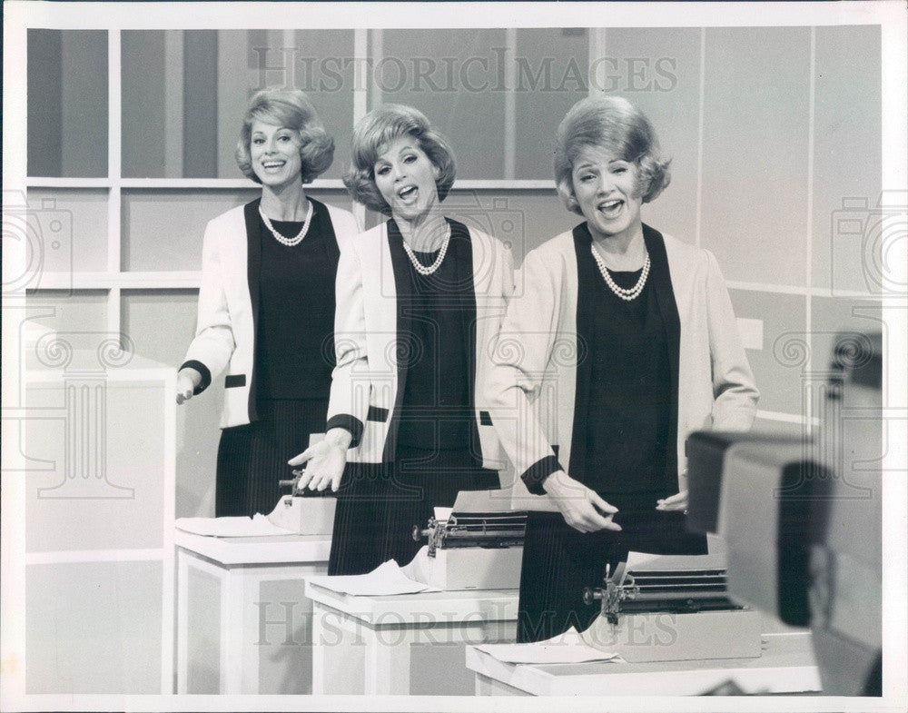 1966 Pop Singers The McGuire Sisters, Phyllis, Christine, Dorothy Press Photo - Historic Images