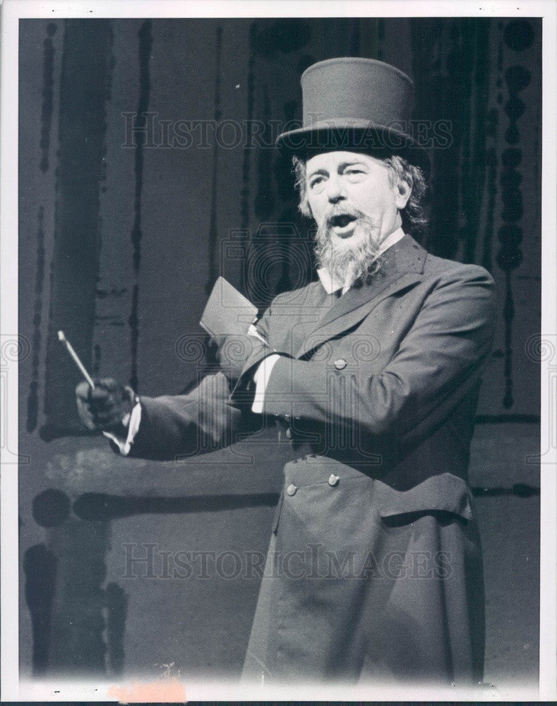 1960 English Hollywood Actor Maurice Evans Press Photo - Historic Images
