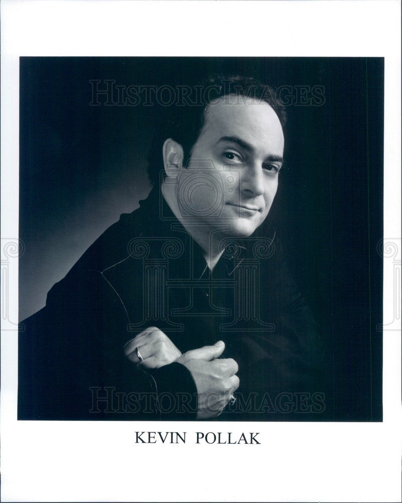 Undated American Actor/Impressionist/Comedian Kevin Pollak Press Photo - Historic Images