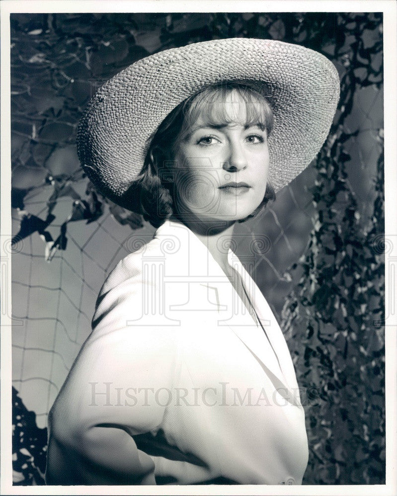 Undated American Hollywood Actress Jenny Robertson Press Photo - Historic Images