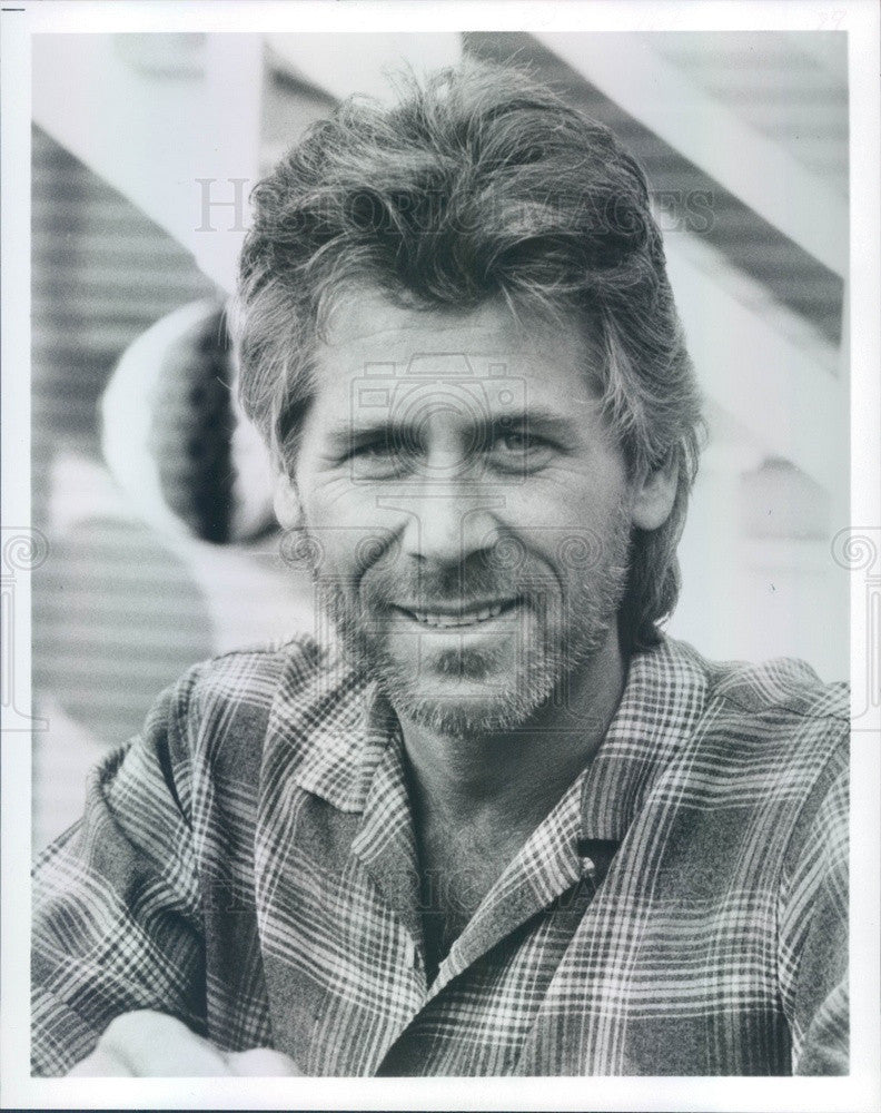1986 American Hollywood Actor Barry Bostwick #4 Press Photo - Historic Images