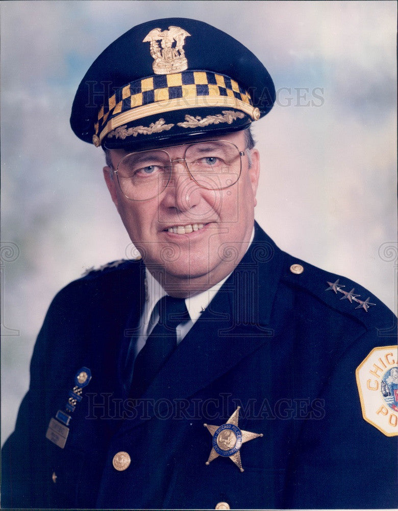 Undated Chicago, IL Police Dept First Deputy Supt John Townsend Press Photo - Historic Images
