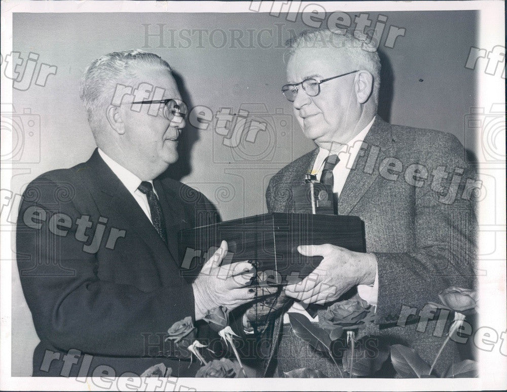 1960 Newark, New Jersey Rose Grower Charles Perkins Press Photo adr201 - Historic Images