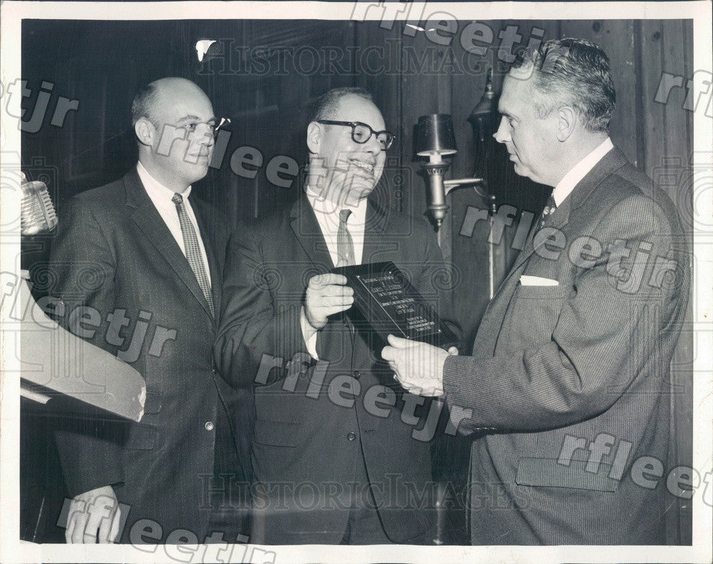 1960 Chicago, IL Sears Roebuck VP James Worthy Press Photo adr241 - Historic Images