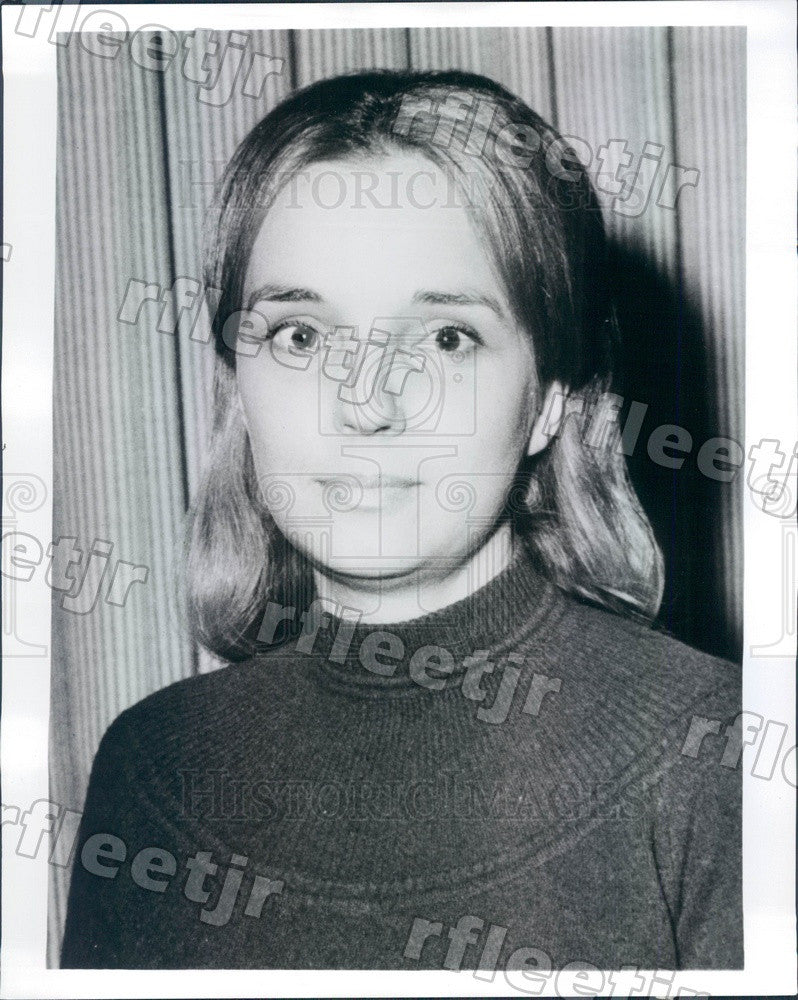 1977 Chicago, Illinois Author, Politician Barbara Schaaf Press Photo adr253 - Historic Images