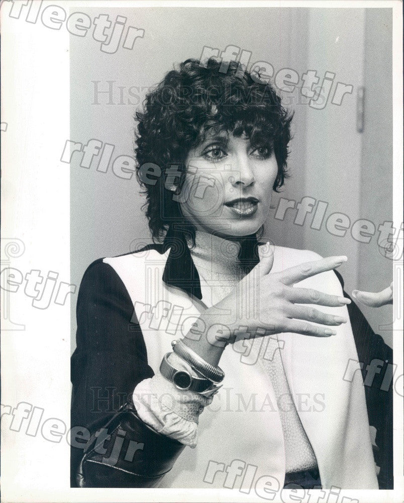 1983 Actress, Author Beverly Sassoon Press Photo adr295 - Historic Images