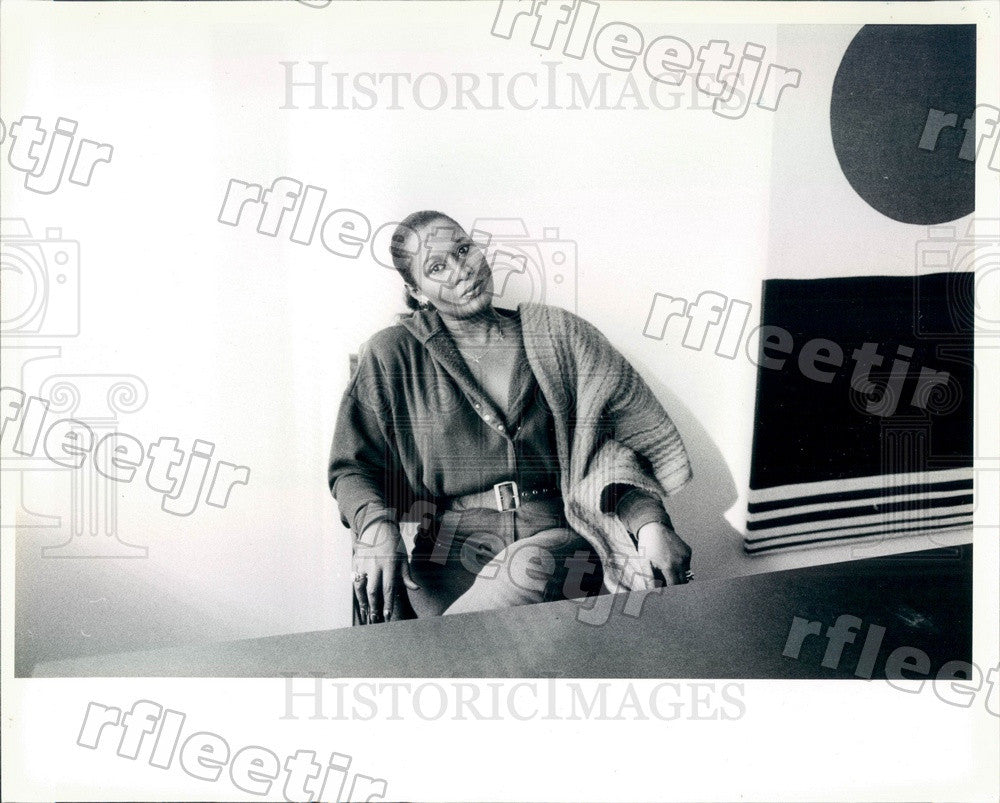 1984 Chicago, IL Businesswoman, Model, TV Host Dori Wilson Press Photo adr373 - Historic Images