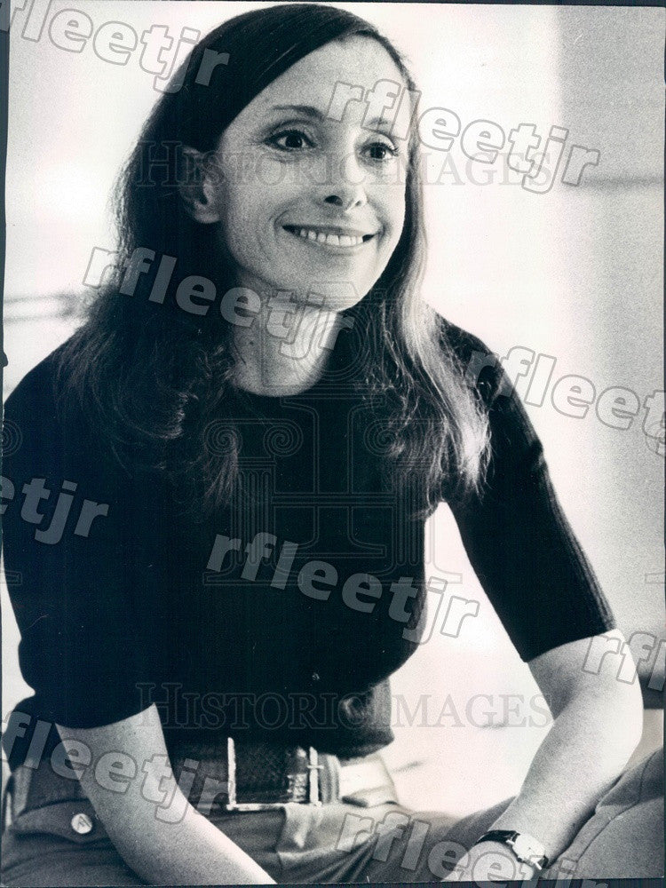 Undated American Novelist Rona Jaffe Press Photo adr427 - Historic Images