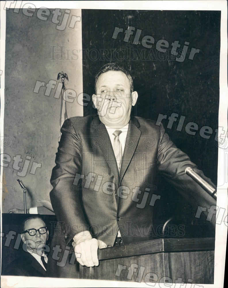 1965 Chicago, IL Police Officer Joseph LeFevour Press Photo adr449 - Historic Images