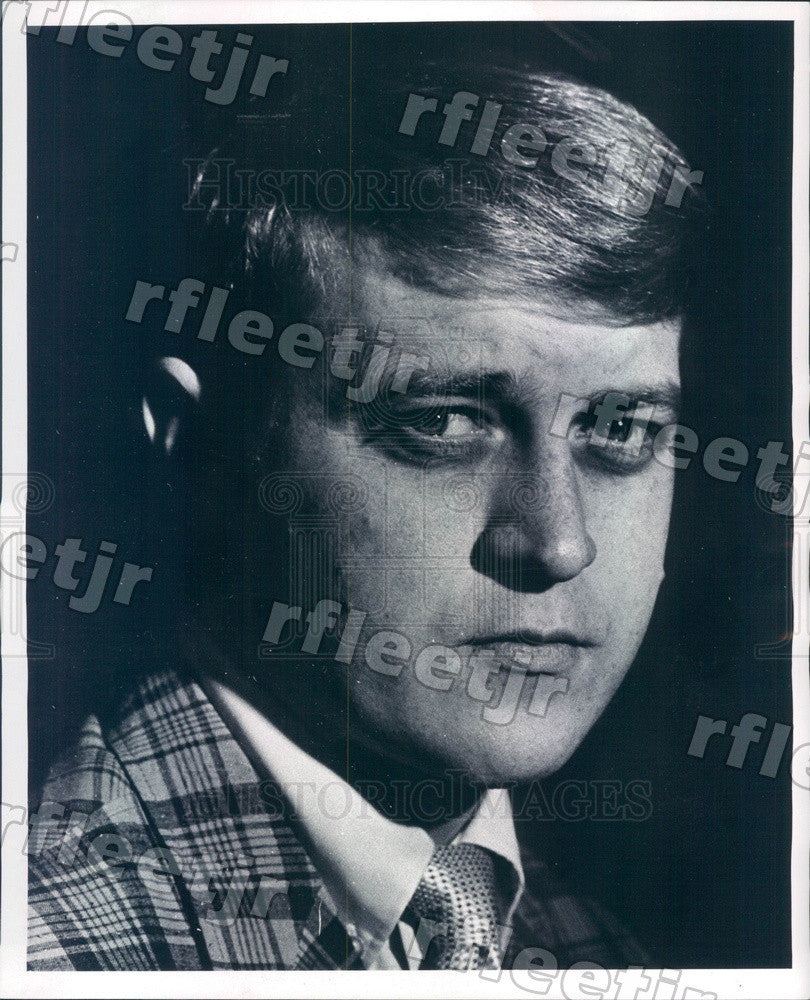 1969 Chicago Sun-Times Photographer James Klepitsch Press Photo adr549 - Historic Images