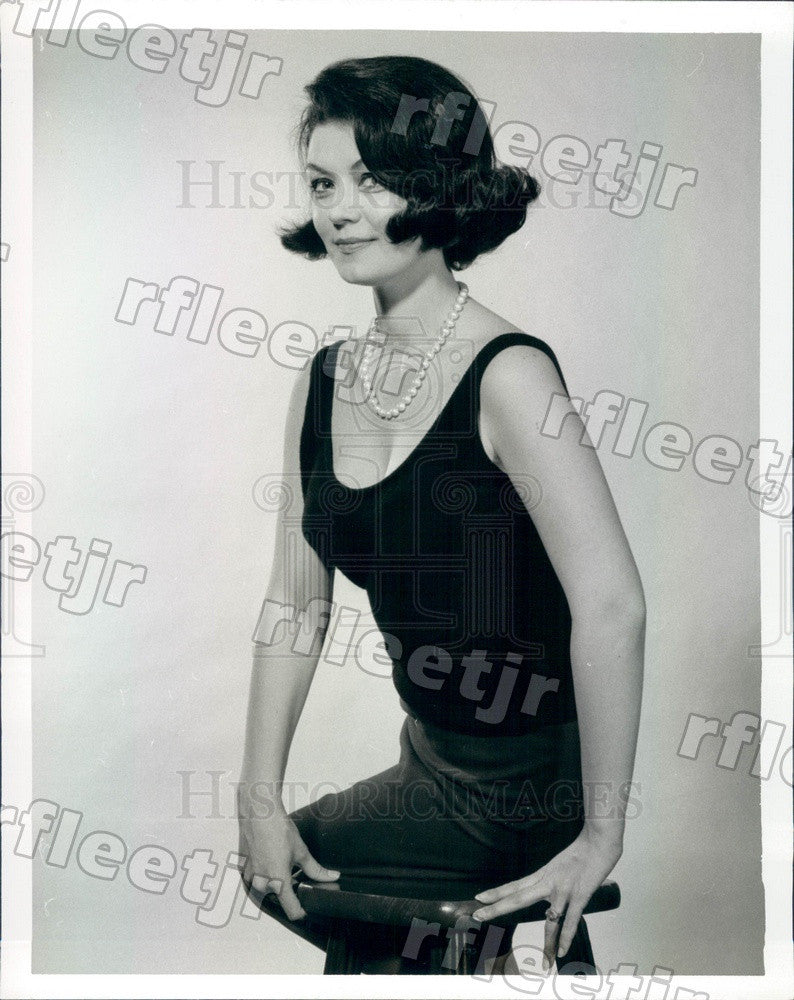 1963 Actress Liz Shaw Press Photo adr585 - Historic Images