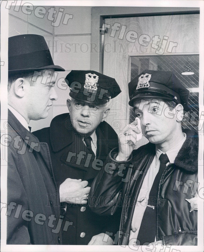 1963 Chicago, IL Sheriff's Police Chief James McGuire Press Photo adr81 - Historic Images