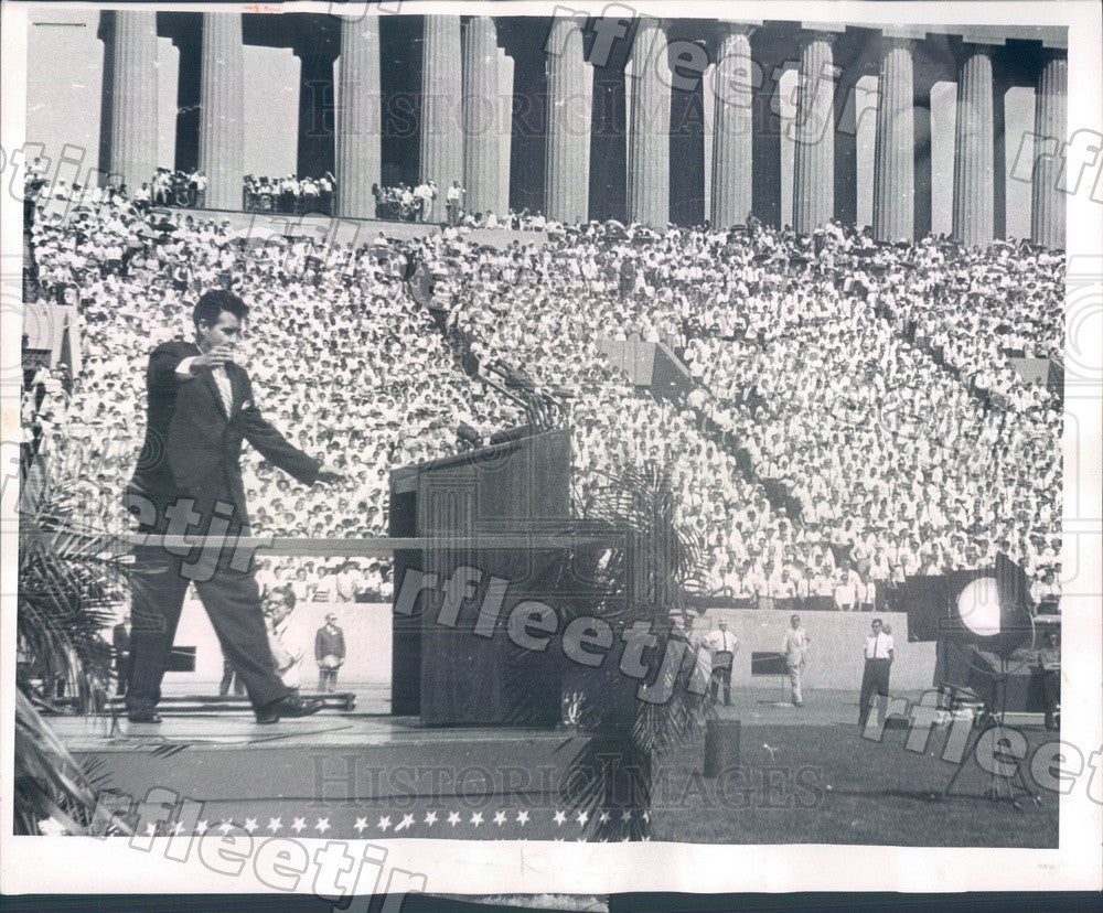 1962 Chicago Billy Graham Revival, Songleader Cliff Barrows Press Photo ads135 - Historic Images