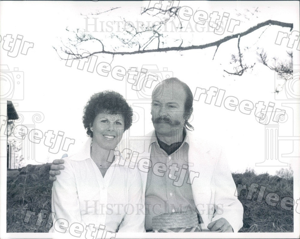 1977 Evergreen, CO Actress Jinx Riedesel & Mike Moore Press Photo ads261 - Historic Images
