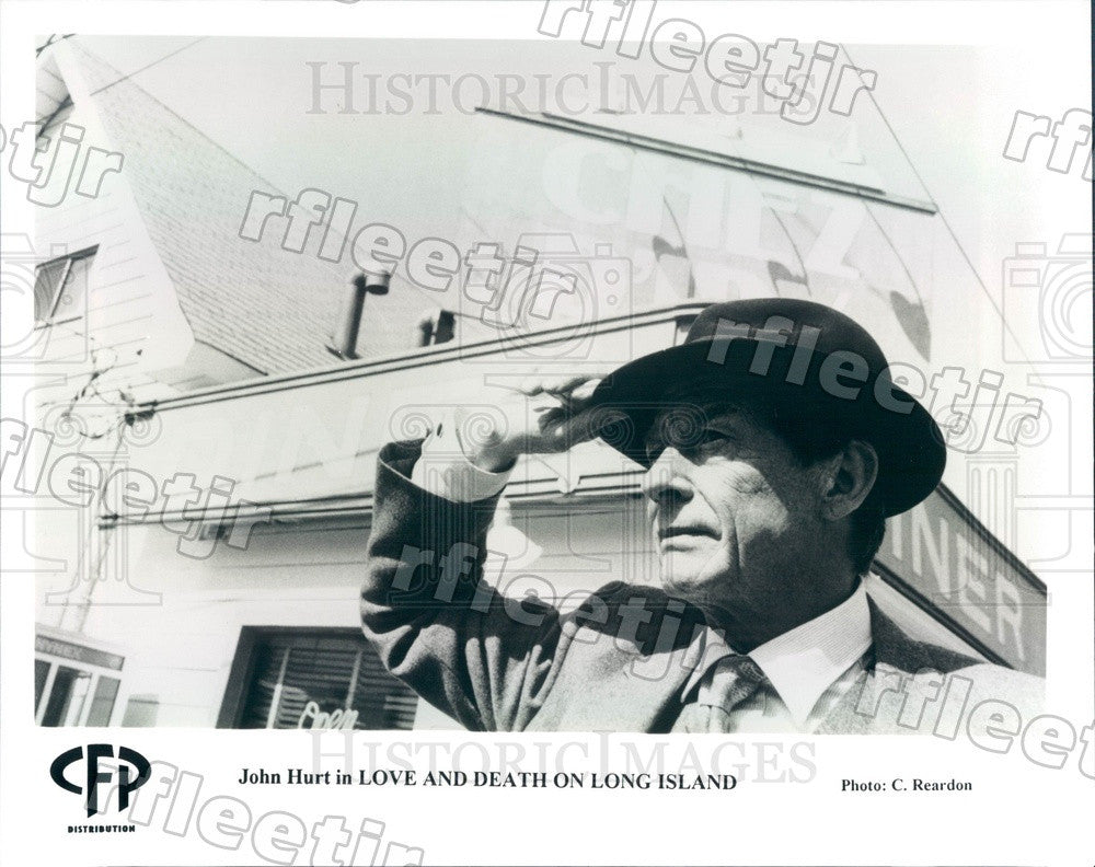 Undated Actor John Hurt in Film Love and Death on Long Island Press Photo ads445 - Historic Images