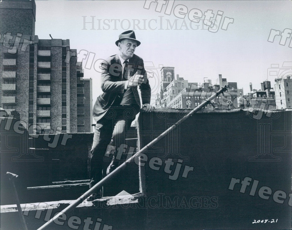 1968 Hollywood Actor Richard Widmark in Film Madigan Press Photo ads463 - Historic Images
