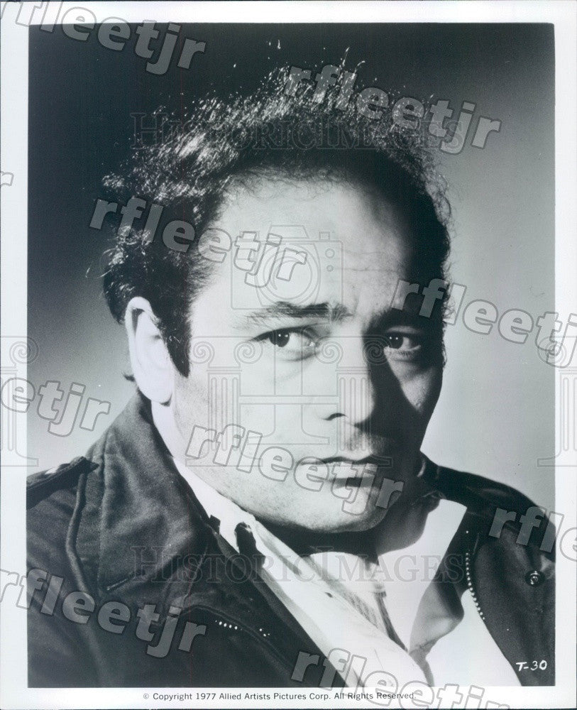1977 Actor Burt Young in Film Twilight's Last Gleaming Press Photo ads477 - Historic Images