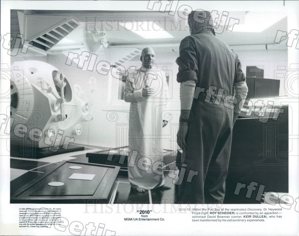 1984 Actors Roy Scheider & Keir Dullea in Film 2010 Press Photo ads527 - Historic Images