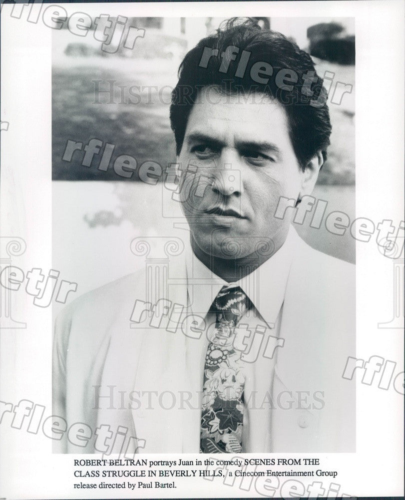 Undated American Actor Robert Beltran in Film Press Photo adt283 - Historic Images