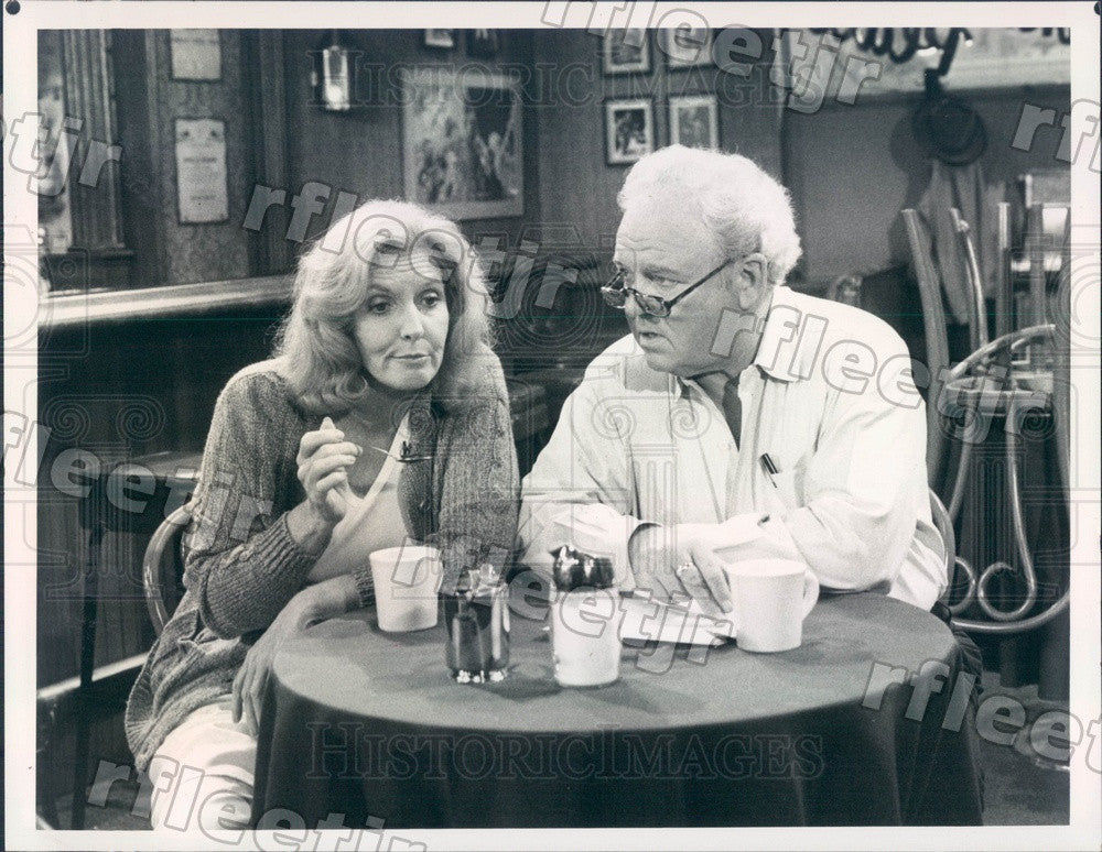 1982 Emmy Winning Actor Carroll O'Connor & Anne Meara Press Photo adt333 - Historic Images